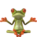 dj-smiley-émoticône-clipart-cartoon-grenouille-zen-fond-transparent